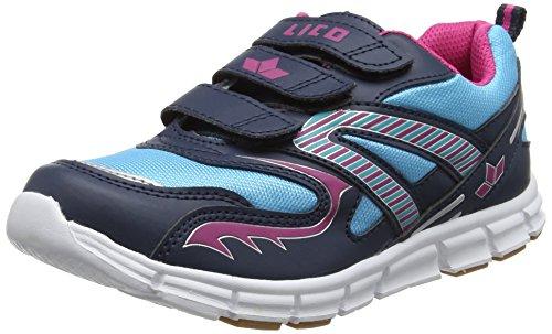 Geka Streetball V, Chaussures De Sport Basses Pour Femmes Bleues (marine / Tuerkis / Rose Marine / Tuerkis / Rose)