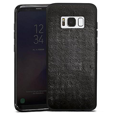 Samsung Galaxy S8 Hülle Silikon Case Schutz Cover Beton Wand