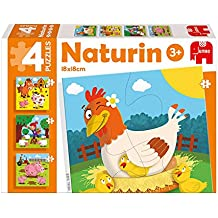 Diset Puzzles infantiles de 4, 6, 9 y 12 piezas