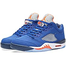 Nike Air Jordan 5 Retro Low, Chaussures de Sport-Basketball Homme, Blanc, 40,5 EU