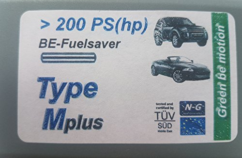 Preisvergleich Produktbild BE-Fuelsaver Mplus Benzin Einsparer für Fahrzeuge ab 200 PS bis ca. 350 PS,für SUV und der Oberklasse, bioenergetischer Metallstift