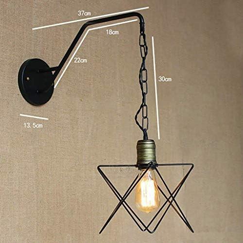Oudan a Lampade a Sospensione a Oudan Sospensione a Sospensione con Struttura in Metallo, lampade da Comodino e Applique da Parete (Coloreee   -, Dimensione   -) 46644e
