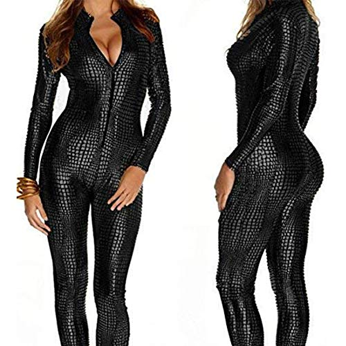 Black Catsuit Overall
