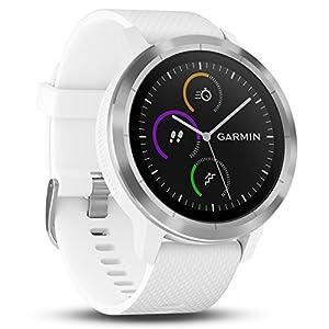 Garmin Vivoactive 3 – Smartwatch con GPS y pulso en la muñeca, Blanco,