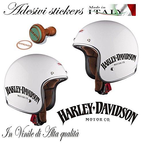 Autocollant Harley Davidson Motor Co. pour casque de d'occasion  Livré partout en Belgique