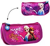 2 in 1: Federmappe / Kosmetiktasche -  Disney die Eiskönigin - Frozen  - incl. Namen - Federmappe &...