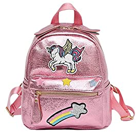 Unicorn Backpack Animal Backpack Girl Unicorn Zaino per bambini Zaino casual