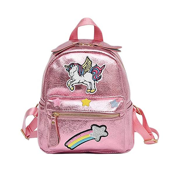 Unicorn Backpack Animal Backpack Girl Unicorn Zaino per bambini Zaino casual