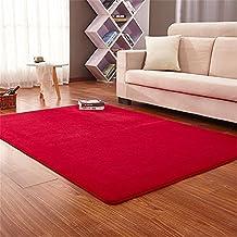 Teppiche CAMAL Rechteckige Waschbare Koralle Samt Dekorative Teppich Wohnzimmer Schlafzimmer Und Bad 100cmX200cm