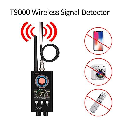 AINGOL Bug Detector, RF-Anti-Spy-Detektor Wireless-Scanner, Sucher für versteckte Kameras, Lochlaser-Objektiv, GSM-Geräte-Sucher, Abhör-Spionagesucher, Candid Video, GPS-Tracker-Laser (Bewegungs-detektor-kamera Spy)