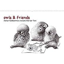 owls & friends (Posterbuch DIN A2 quer): Stefan Kahlhammers tierische Welt (Posterbuch, 14 Seiten) (CALVENDO Spass) [Taschenbuch] [Feb 21, 2013] Kahlhammer, Stefan