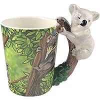 PUCKATOR SMUG55 - Taza (cerámica, 12, x 9,8 x 11,2 cm), diseño de koala