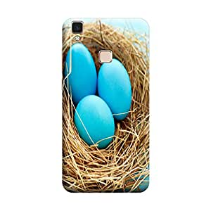 Ebby 3d printed back case cover for Vivo V3 Max(Premium Designer Case)