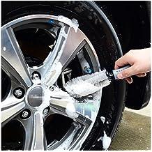 T2O®, spazzola per pulire cerchi in lega e pneumatici, con setole morbide