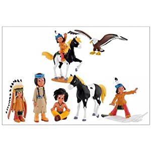 Yakari le petit indien - Set de 7 figurines