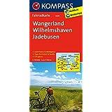 Wangerland - Wilhelmshaven - Jadebusen: Fahrradkarte. GPS-genau. 1:70000 (KOMPASS-Fahrradkarten Deutschland, Band 3005)