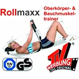 Rollmaxx Bauchtrainer Fitness Muskeltrainer Roll Maxx Geschenk Marke Crane (Aldi) von SchwabMarken, 1 Stück
