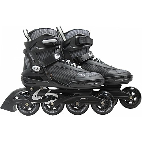 Cox Swain Inline Skates -MOREA- Unisex Softboot - Abec 7, Farbe: Black, Größe: 41 -