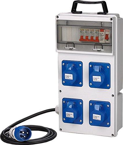 Cuadro eléctrico ASC obra 4enchufes 230V IP44