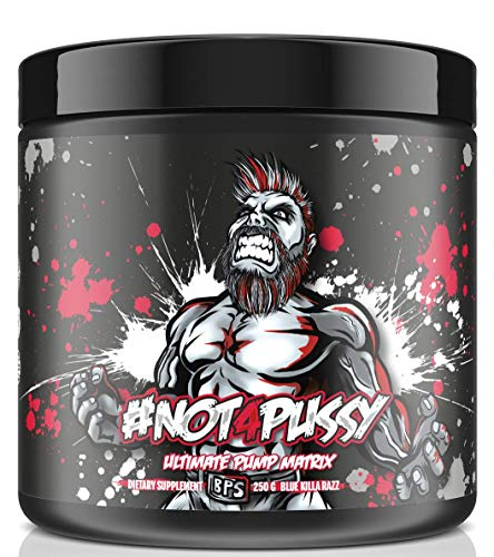 BPSPharma #Not4Pussy Ultimate Pump Matrix Pumpbooster Pre-Workout Booster Bodybuilding 250g (Lemon Ice Tea)