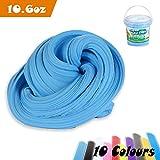 Slime Fluffy, Aitsite 300g / 900ml Fluffy Slime No Borax Non-collant for Enfants et Adultes (Bleu ciel)