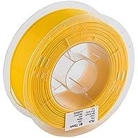 Comgrow 3D Printer PLA Filament 1.75mm 1KG Spool Yellow