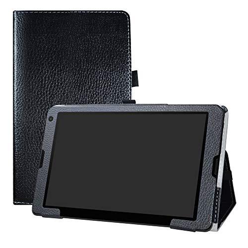 LFDZ Medion Lifetab E10513 Hülle, Schutzhülle mit Hochwertiges PU Leder Tasche Case für 10.1