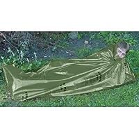 Highlander Kit de survie militaire avec instructions SOS (en anglais) Vert olive