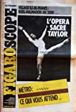 figaro scope le no 14119 du 17 01 1990 l opera sacre taylor le metro ce qui vous attend village ile de france rueil malmaison an 2000 sports pour les fans de football le cercle des poetes disparus de peter weir avec robin williams ph