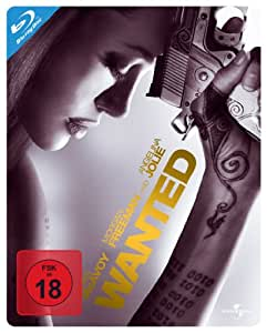 Wanted Steelbook [Blu-ray] [Import allemand]