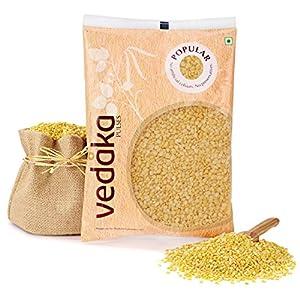 Amazon Brand – Vedaka Popular Moong Dal (Yellow), 1 kg