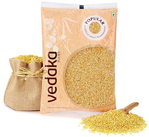 Amazon Brand – Vedaka Popular Moong Dal (Yellow), 500g