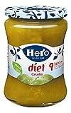 Hero Diet Confitura de Ciruelas Sin Azúcares Añadidos ni Conservantes,  Sabor Auténtico 280 g