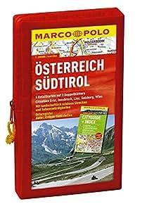 MARCO POLO Kartenset Österreich und Südtirol 1:200.000 (MARCO POLO Karte 1:200000)
