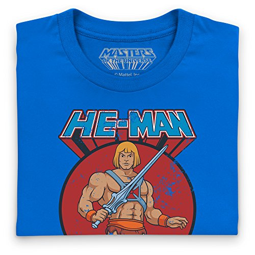 Official Masters of the Universe - He-Man T-Shirt, Herren Royalblau