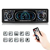 Favoto Autoradio Bluetooth Freisprecheinrichtung Auto Radio MP3 din 1 FM Radio USB/SD/AUX Fernbedienung mit Deutscher Bedienungsanleitung
