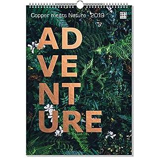 artboxONE Kalender 2019 Copper Meets Nature Wandkalender A4 Natur