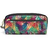 mydaily Colorful Pencil Case tropical palmera lápiz bolsa de cosméticos bolso de la bolsa del monedero