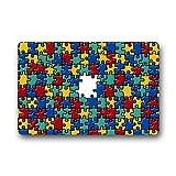 coloré sensibilisation à l'autisme pièces de puzzle décoratifs Tapis de sol en caoutchouc antidérapant Paillasson Paillasson, 45,7x 76,2cm