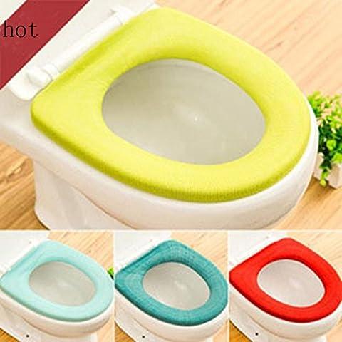 Mchoice de salle de bain wc lunette WC lavable souple Warmer Tapis Housse de siège