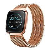 whelsara Montre-Bracelet L18 Intelligente - Podomètre de contrôle de la Pression artérielle de la fréquence Cardiaque Bracelet Sport Intelligent
