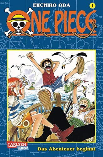 One Piece, Bd. 1, Das Abenteuer beginnt