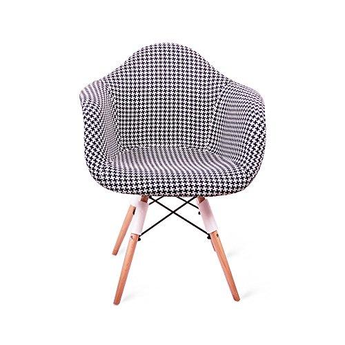 G-Y Faules Sofa, Nordisches Modernes Einsitziges Sofa, Wohnzimmer-Stuhl, Beiläufiger Büro-Stuhl (Farbe : Lila)