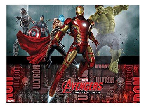 Age of Ultron Tischdecke, 1,8m x 1,2m (Avengers Geburtstag Thema)