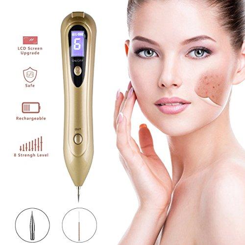 Altersflecken Entfernen,Spot eraser pro,Mole Entfernen Maschine,USB-Aufladung,für Haut Tag,Maulwurf,Tattoo,Sommersprossen,und die Haut Pigmentierung