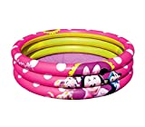 Bestway 91060 Piscina gonfiabile Minnie 102x25 cm tre anelli rosa MWS