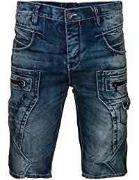Cipo & Baxx Herren Jeans Shorts CK-101 Regular destroyed