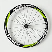Aurora Racing 38 – 23 mm 700 C ruedas de carbono freno de disco bicicleta de
