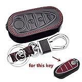 Happyit auto Smart Key case in pelle per Alfa mito 159Gto mito Giulietta Romeo 4C gta-m383pulsanti di controllo remoto