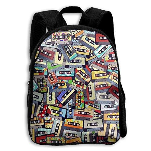 ADGBag Children Boys Girls Tapes Mixed Backpack Shoulder Bag Book Scholl Travel Backpack Kinderrucksack Rucksack